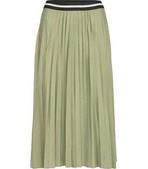 skirts knitted knälång kjol grön esprit casual