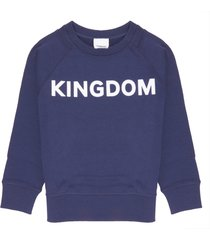 burberry kingdom print sweatshirt
