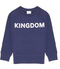 burberry kingdom print sweatshirt