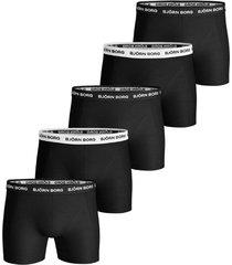 bjorn borg shorts 5pak sollid