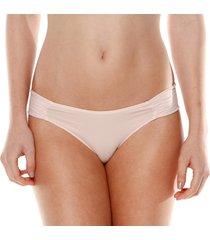calcinha borboleta base - 532.026 marcyn lingerie básica bege