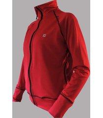 jaqueta ciclico esportiva vermelha