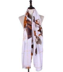 sciarpa antivento casual soft sciarpa parasole estiva primavera in cotone jacquard