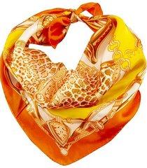 pañuelo naranja bohemia estampado
