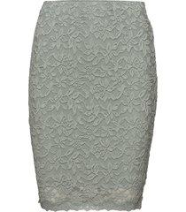 skirt kort kjol grå rosemunde