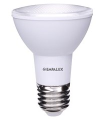 lâmpada led par20 7w bivolt 3000k luz amarela