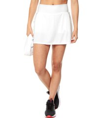 falda short blanco adidas performance g club skirt