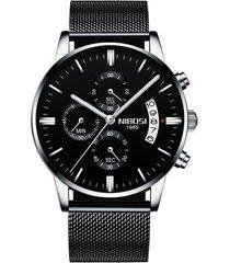 famoso reloj de pulsera de lujo de la mejor marca de los hombres de moda vestido casual relojes de pulsera de oro