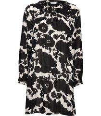 gobine tunic kort klänning svart masai