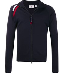 rossignol anthelme full zip sweater - blue