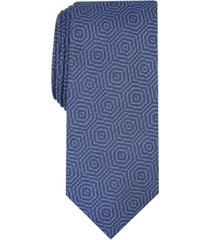 alfani men's debin abstract plaid tie, created for macy's