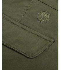cotton poplin cargo shorts