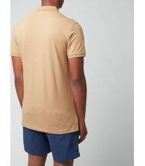polo ralph lauren men's mesh polo shirt - luxury tan - xxl