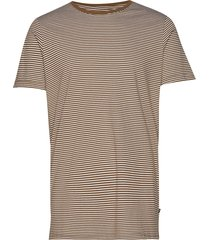jermane t-shirts short-sleeved brun matinique