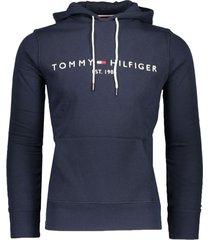 tommy hilfiger hoodie donkerblauw