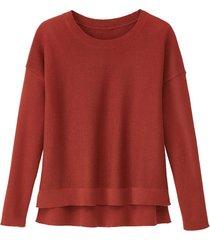 pullover, kastanje 36