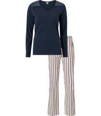pyjamas med lång ärm