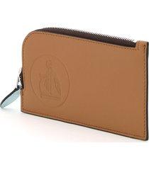lanvin tourist card holder pouch