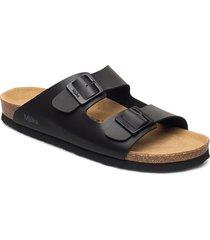 helsi shoes summer shoes flat sandals svart mjúka
