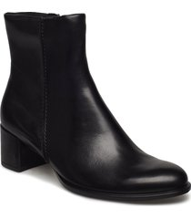 shape 35 block shoes boots ankle boots ankle boot - heel svart ecco