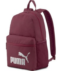 mochila bordó puma phase backpack