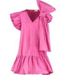 decorative maxi-bow dress
