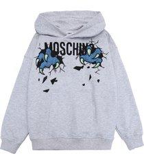 moschino kid sweatshirts