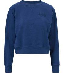 sweatshirt vintage cropped