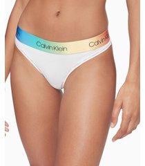calvin klein modern cotton pride thong underwear qf6581