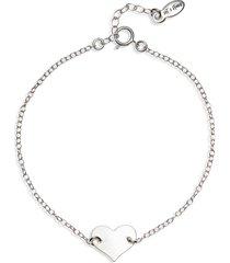 set & stones jenny heart bracelet in silver at nordstrom