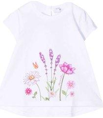 monnalisa floral t-shirt
