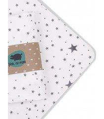 prześcieradło z gumką do łóżeczka dziecięcego 70x140 cm gwiazdy