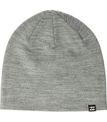gorro all day gris mujer billabong