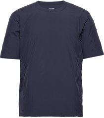all weather tee t-shirts short-sleeved blå houdini