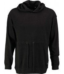 only & sons zwarte sweater hoodie