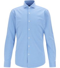 boss men's jason travel line slim-fit shirt