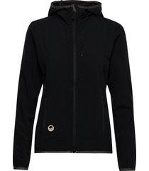 kielo women's softshell jacket outerwear sport jackets svart halti