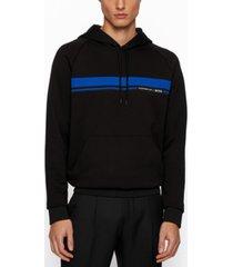 boss men's mercerized regular-fit sweatshirt