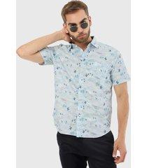 camisa vinotinto nautica