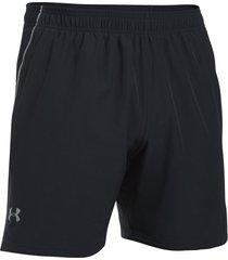 pantaloneta para hombre under armour-negro