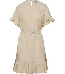 sandy dress kort klänning beige twist & tango