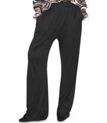 b new york draped wide-leg pants