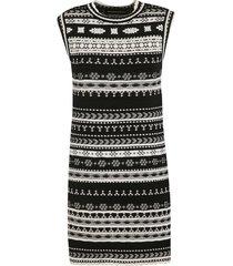 ermanno scervino sleeveless knit short dress