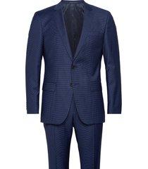 huge6/genius5 blazer colbert blauw boss