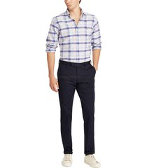 pantalon stretch slim cotton chino polo ralph lauren