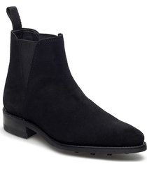 savannah low-703 shoes boots ankle boots ankle boot - flat svart primeboots