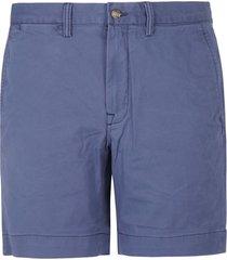 ralph lauren straight fit bedford flat shorts