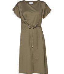 lock dress jurk knielengte groen hope