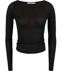 na-kd shirt / top zwart 1018-003240