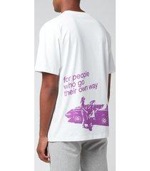a.p.c. x gimme five men's vince t-shirt - white - xl
